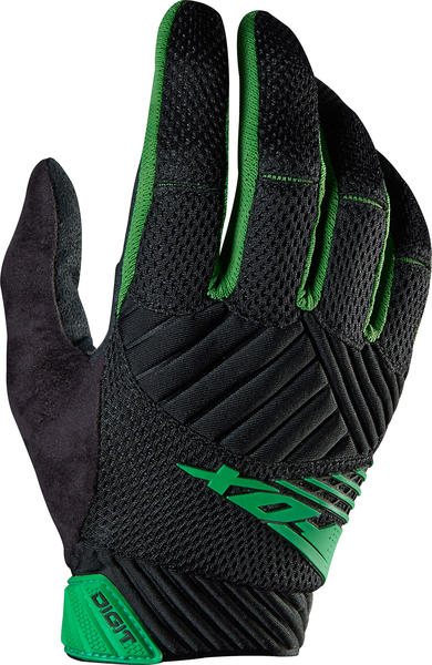 Fox Racing Digit Gloves Color: Green
