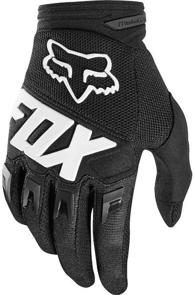 Fox Racing Dirtpaw Race Gloves Color: Black