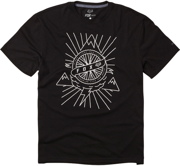 Fox Racing First Light SS Tech Tee Color: Black