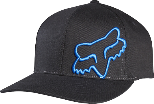 Fox Racing Flex 45 Flexfit Hat Color: Black/Blue