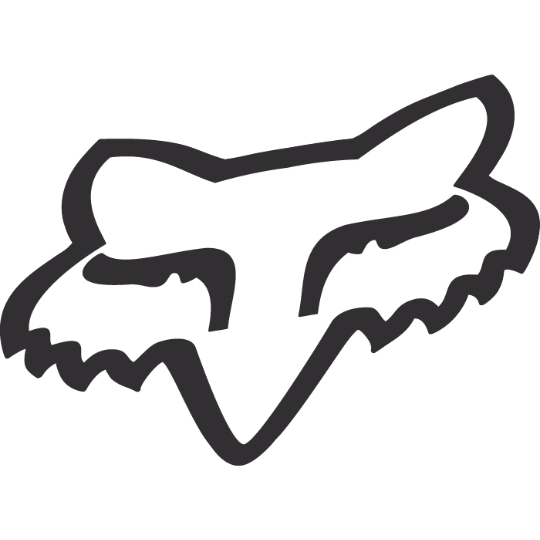 Fox Racing Foxhead TDC Sticker - 10 Inch
