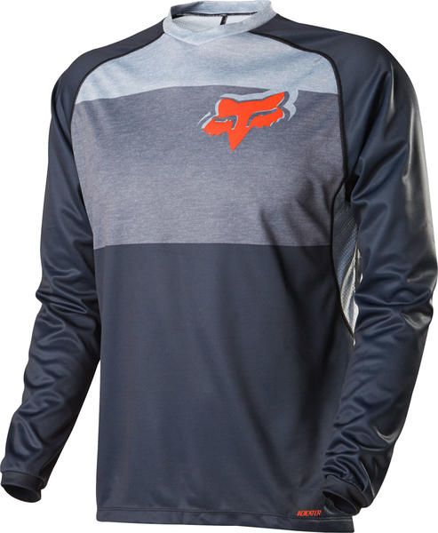 Fox Racing Indicator LS Jersey Color: Grey
