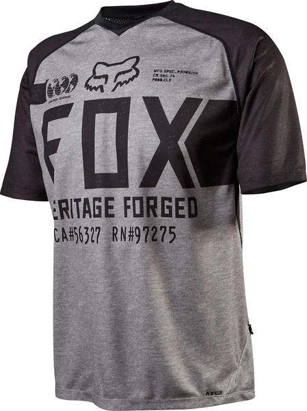 Fox Racing Indicator SS Jersey Color: Heather Gray