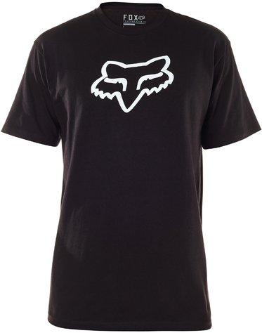 Fox Racing Legacy Fox Head Tee Color: Black