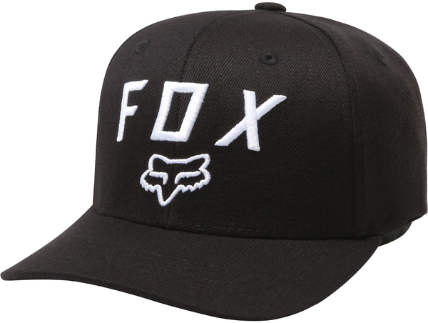 Fox Racing Legacy Moth 110 Snapback Hat Color: Black