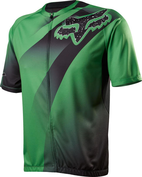 Fox Racing Livewire Descent Jersey Color: Green