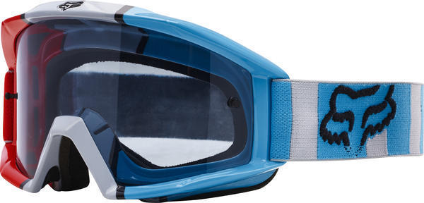 Fox Racing Main Falcon Goggle Color | Lens: Grey/Red | Grey