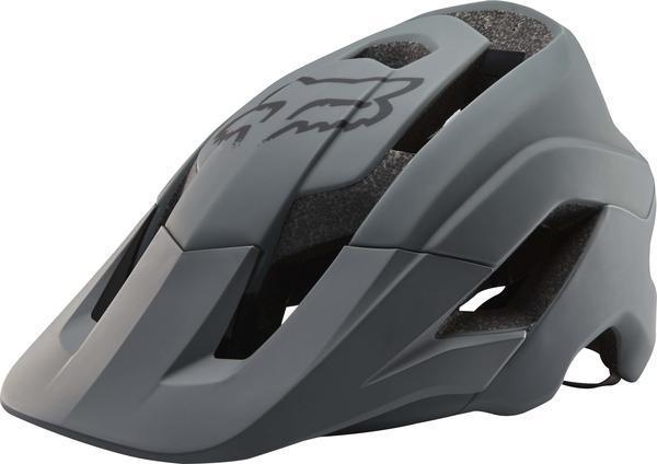 Fox Racing Metah Solids Helmet Color: Gray