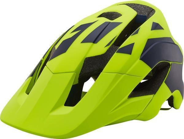 Fox Racing Metah Thresh Helmet Color: Fluorescent Yellow