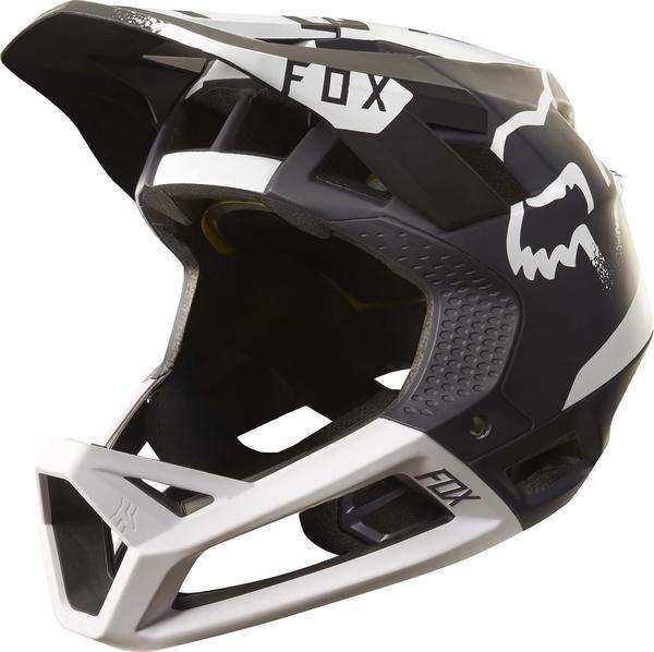 Fox Racing Proframe Moth Helmet Color: Black/White