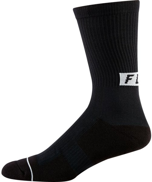 Fox Racing 8-Inch Trail Cushion Sock Color: Black