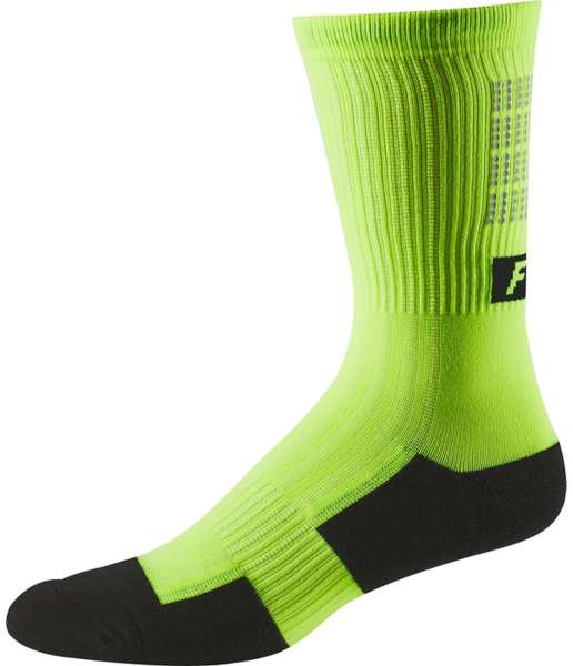Fox Racing 8-inch Trail Cushion Sock Lunar