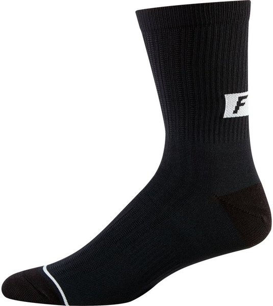 Fox Racing 8-Inch Trail Socks Color: Black