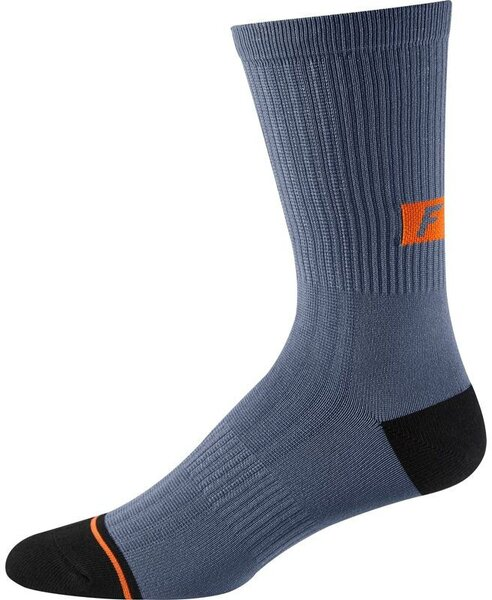Fox Racing 8-inch Trail Sock Color: Blue Steel