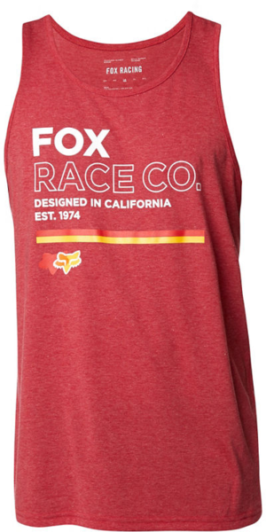 Fox Racing Analog Tech Tank Color: Chili