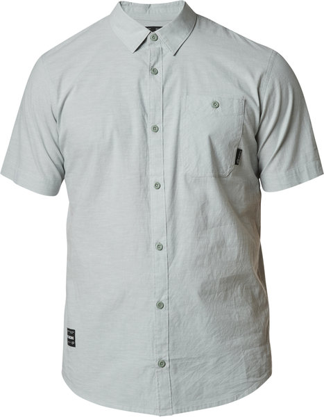 Fox Racing Baja Short Sleeve Woven Color: Eucalyptus