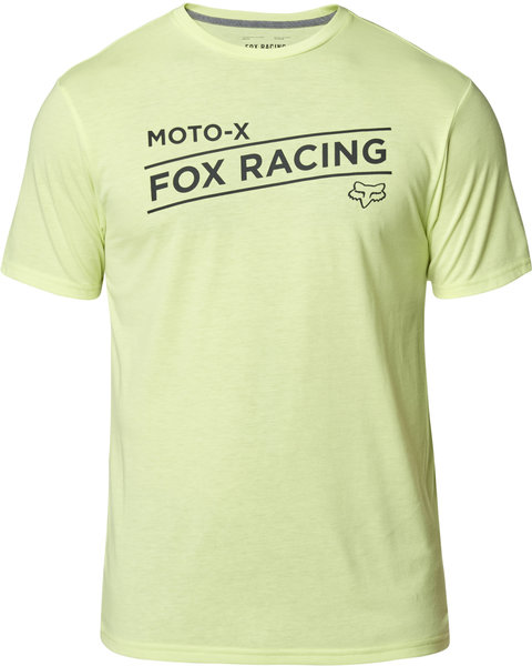 Fox Racing Banner Short Sleeve Tech Tee Color: Lime