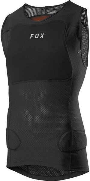 Fox Racing Baseframe Pro Sleeveless Guard Color: Black