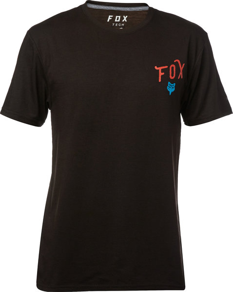 Fox Racing Currently Tech Tee Color: Black