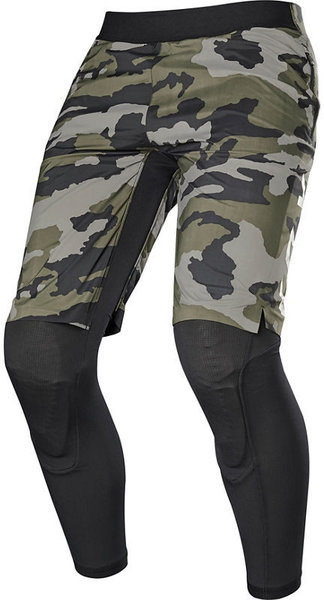 Fox Racing Defend 2-In-1 Winter Short Color: Green Camo