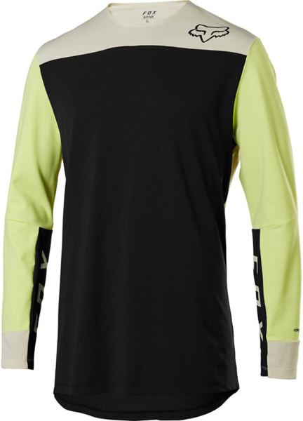 Fox Racing Defend Delta Long-Sleeve Jersey Color: Black