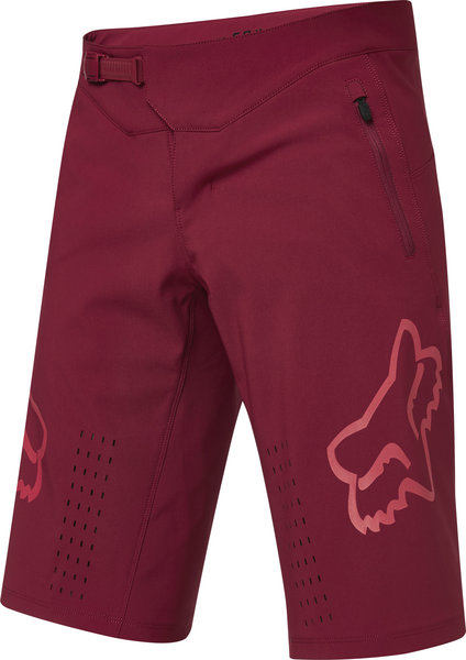 Fox Racing Defend Short Color: Chili