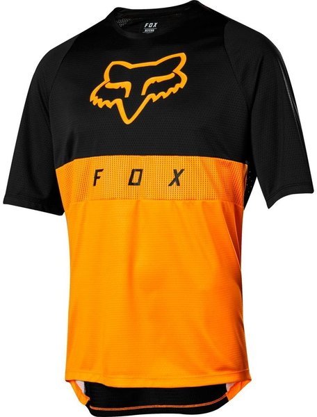 Fox Racing Defend Short Sleeve Moth Jersey Color: Atomic Orange