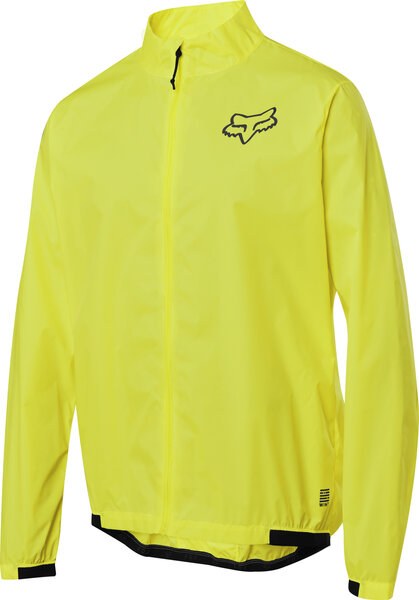 Fox Racing Defend Wind Jacket Color: Day Glo Yellow