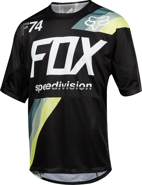 Fox Racing Demo Drafter Jersey Color: Black