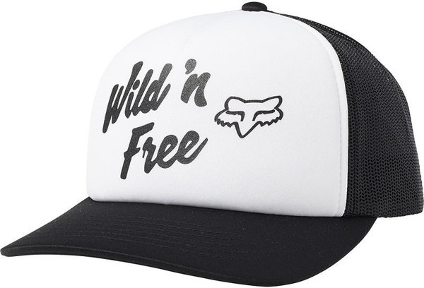 Fox Racing Desert Trucker Hat Color: White/Black
