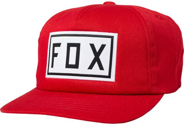 Fox Racing Drive Train Snapback Hat