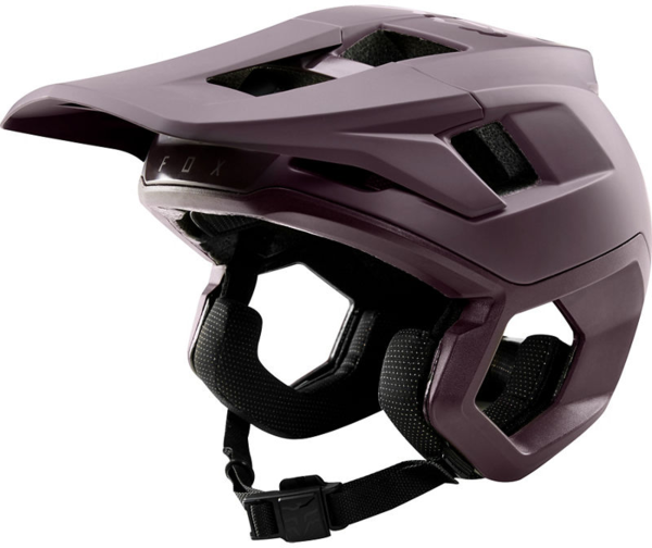 Fox Racing Dropframe Pro Helmet Color: Dark Purple