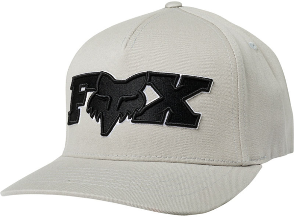 Fox Racing Ellipsoid Flexfit Hat Color: Grey/Black