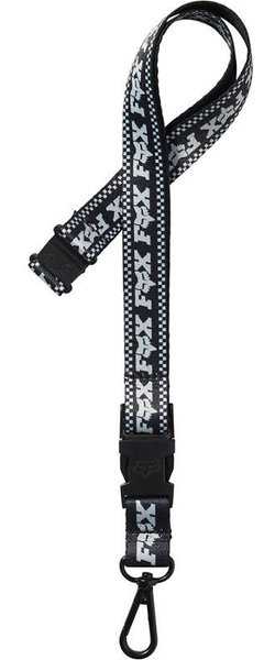 Fox Racing F-Head-X Lanyard Color: Black