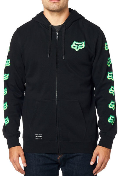 Fox Racing Flame Head Zip Hoodie