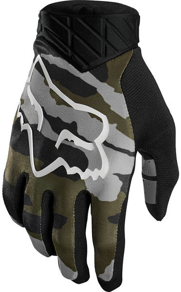 Fox Racing Flexair Camo Glove Color: Green Camo