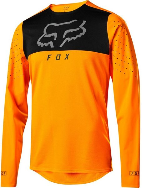 Fox Racing Flexair Delta Long Sleeve Jersey Color: Atomic Orange