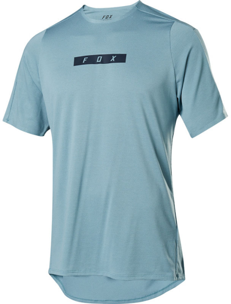 Fox Racing Flexair Delta Short Sleeve Jersey Color: Light Blue