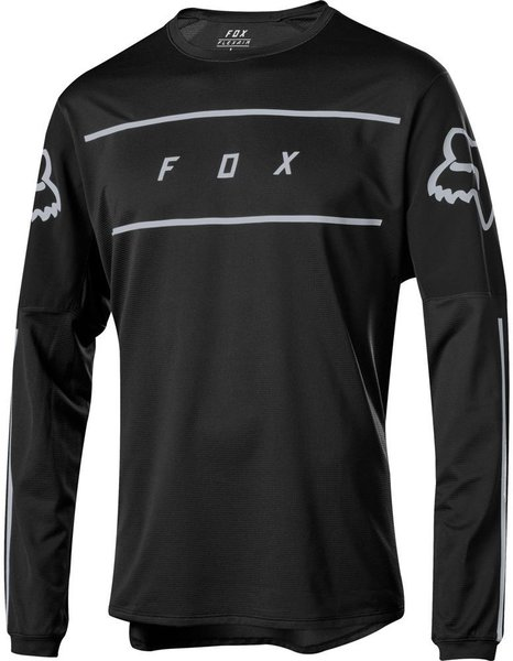 Fox Racing Flexair Long Sleeve Fine Line Jersey Color: Black