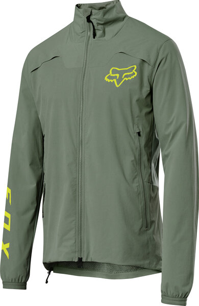 Fox Racing Flexair Pro Fire Alpha Jacket Color: Pine