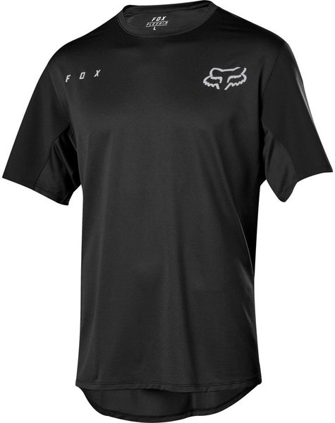 Fox Racing Flexair Short Sleeve Jersey Color: Black