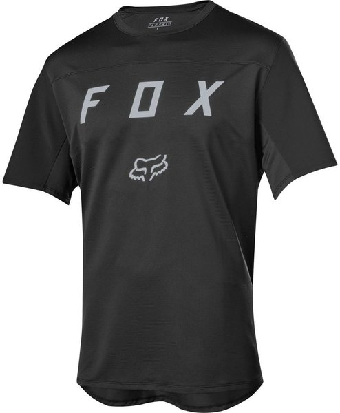 Fox Racing Flexair Short Sleeve Moth Jersey Color: Black