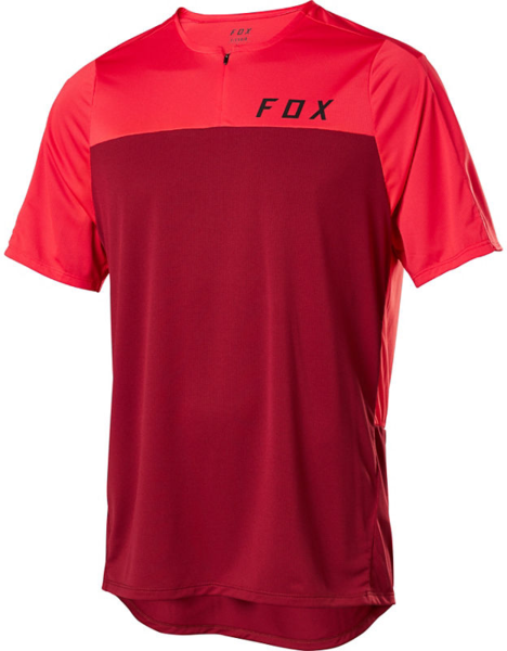 Fox Racing Flexair Zip Short Sleeve Jersey