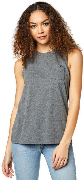 Fox Racing Flutter Tank Color: Heather Graphite