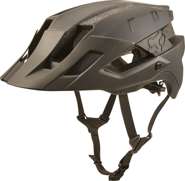 Fox Racing Flux Helmet Solid Color: Dirt