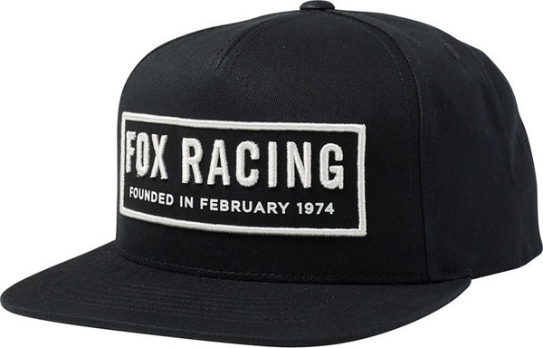 Fox Racing Founded Snapback Hat
