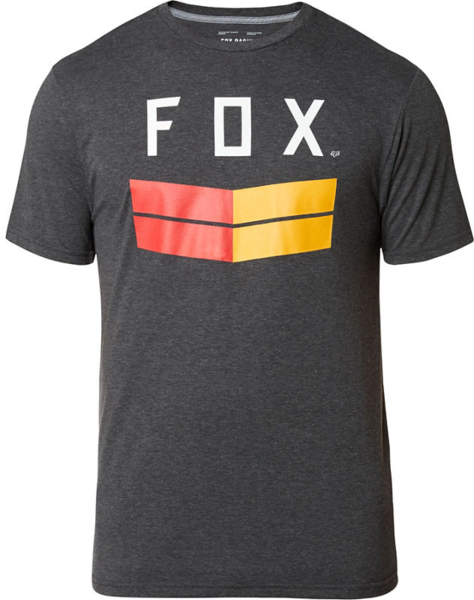 Fox Racing Frontier Short Sleeve Tech Tee Color: Heather Black