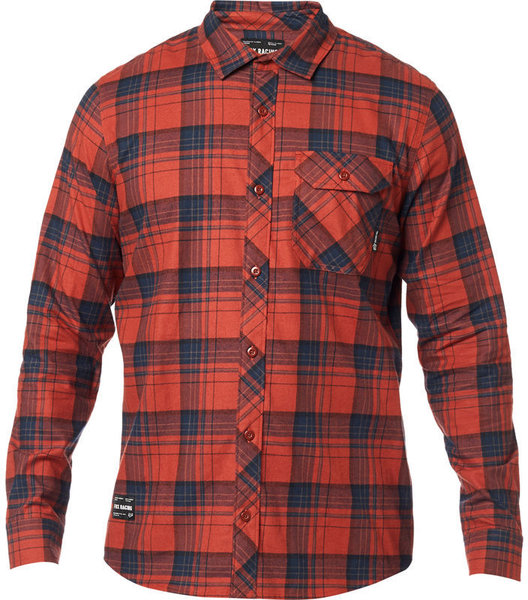Fox Racing Gamut Stretch Flannel Color: ADB