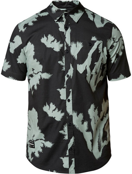 Fox Racing Greenhorn Short Sleeve Woven Color: Black Vintage