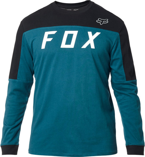 Fox Racing Grizzled Long Sleeve Airline Knit Color: Maui Blue
